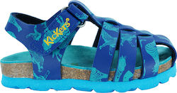 Kickers Summertan 622380-10-53 Μπλε