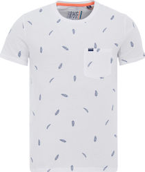 Superdry AOP Lite Pocket Tee White