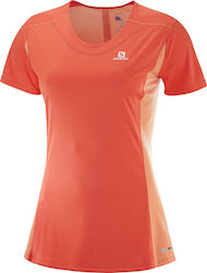 Salomon Agile Heather Tee 402157