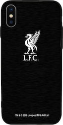 Forever Collectibles Liverpool Back Cover Μεταλλικό Μαύρο (iPhone X/Xs)