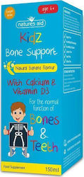Natures Aid Kidz Bone Support 6+ 150ml