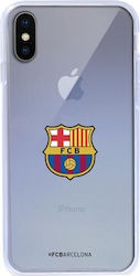 Forever Collectibles Barcelona Back Cover Σιλικόνης Διάφανο (iPhone X/Xs)