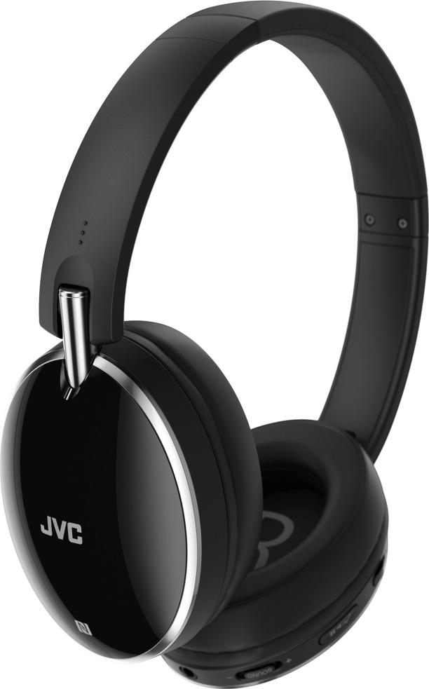 JVC HA-S90BN-B-E Headset Head-band Black Silver (JVC) - Πληρωμή και σε έως 36 Δόσεις!!!