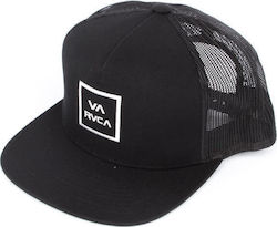 RVCA Καπέλο VA ALL THE WAY TRUCK U5CPRU BLACK