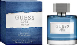 Guess 1981 Indigo Eau de Toilette 100ml