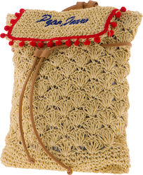 Pepe Jeans Drawstring Case Straw PG0302700AA-13 Beige
