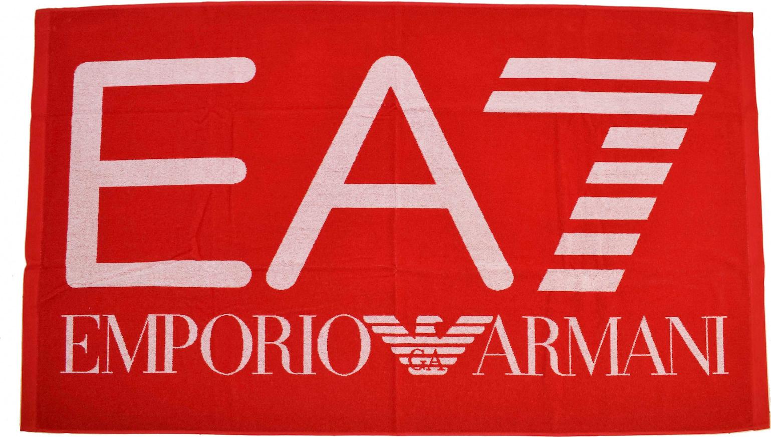 Προσθήκη στα αγαπημένα menu Emporio Armani Πετσέτα Θαλάσσης 100x170 EA7  Κόκκινο 8451ae094e0