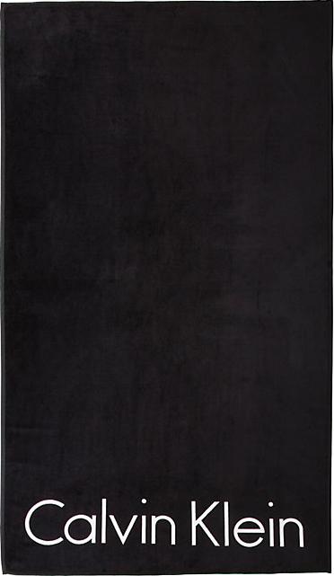 Calvin Klein Πετσέτα Θαλάσσης 100x180 Core Neo Logo Black - Skroutz.gr 0637e7c659f