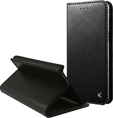 Ksix Stand Book Μαύρο (Huawei P20 Lite)