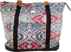 Roxy Other Side - A3 Tote Bag ERJBP03409 Multi