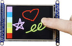 "Adafruit 2.8"" TFT LCD Touchscreen Breakout Board w MicroSD Socket"