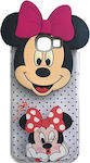 Samsung Galaxy A5 (2017) / Duos A520F Silicone Back Cover Case Cute Minnie Mouse Design (oem)