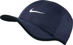 Nike NikeCourt AeroBill Featherlight Tennis Cap 679421-410 Blue