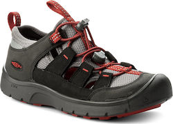 Κλειστά παπούτσια KEEN - Hikeport Vent 1019058 Raven/Firey Red