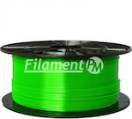 Filament PM PETG 1.75mm Transparent Green 1kg (040330000)