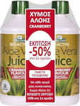 Optima Naturals Aloe Vera Juice Cranberry 2 x 1000ml