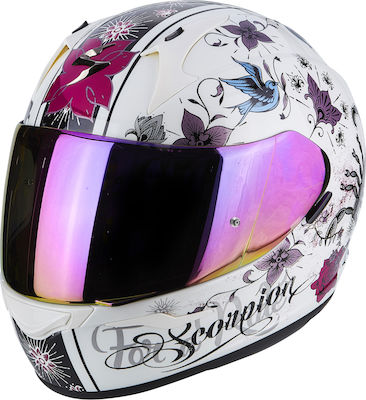 Scorpion EXO-390 Chica Pearl White/Pink