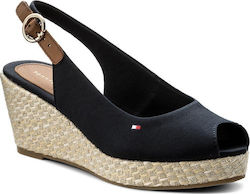 Tommy Hilfiger Iconic Elba Sling Back Midnight
