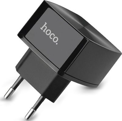 Hoco USB Wall Adapter Μαύρο (C26)