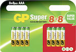 GP Batteries Super AAA (16τμχ)
