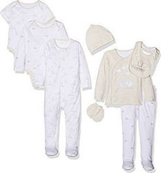 Mothercare Set 8 τεμαχίων 9 - 12 Μηνών LC588 - First Little Lamb