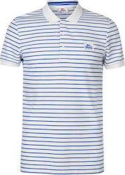 Lonsdale Slim Polo 545013 White/Blue