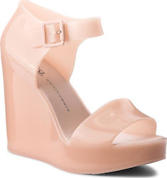 Σανδάλια MELISSA - Mar Wedge Ad 32241 Light Pink 01822
