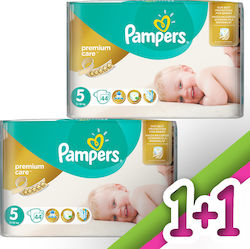 Pampers Premium Care No 5 (11-18kg) 2*44τμχ