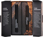 Korres Set Black Volcanic Summer Glow Mineral Professional Length Mascara 03 Brown Plum & Twist Eyeshadow 29 Golden Bronze
