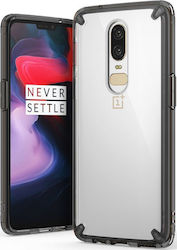 Ringke Fusion Back Cover Μαύρο (OnePlus 6)
