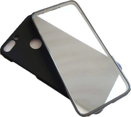 best service d618e 06d37 Huawei P Smart 360 Degree Full Body Case With Hard Back Cover Black ...