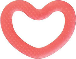 Suavinex Love Silicon Teether Pink