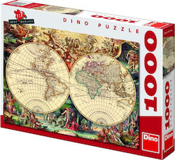 Historical Map 1000pcs (53185) Dino