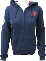 U.S. Polo ASSN Hoody 52191-177 Navy Blue