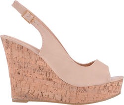 Famous Shoes M9211 Beige