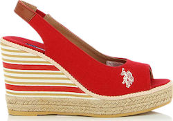 U.S. Polo Assn. Romy Red