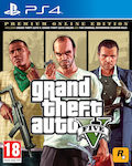 Grand Theft Auto V (Premium Online Edition) PS4