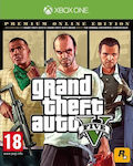 Grand Theft Auto V (Premium Online) XBOX ONE