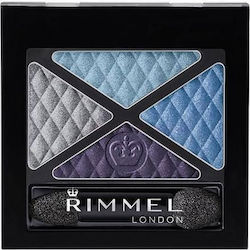 Rimmel London Glam Eyes Quad 001 Smokey Noir