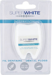 Super White Interdental Floss 50m