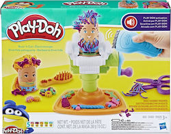 Hasbro Play-Doh Fuzzy Pumper Barber Shop