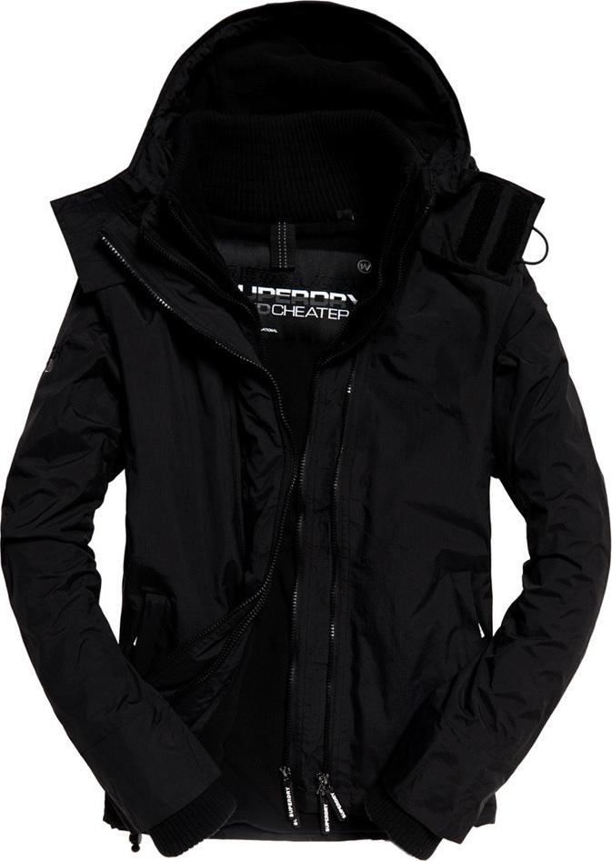 Superdry Casual Mαύρο Arctic Hood Pop Zip Windcheater - Skroutz.gr e4a222ad6a0