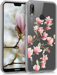 KW Back Cover Σιλικόνης Magnolias (Huawei P20 Lite)