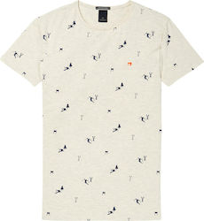 Scotch & Soda Printed 145533-0588 Beige