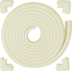 OEM Meetbaby Edge Guard 4,5m & 4 Corner Cushions White