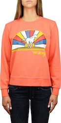 Wrangler Regular Sweat Glow Orange (W6077HQ48)