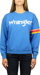 Wrangler Logo Sweat Deep Water (W6072HQDF)