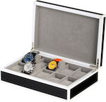 Θήκη Ρολογιών Rothenschild Watch Box RS-2330-10BL
