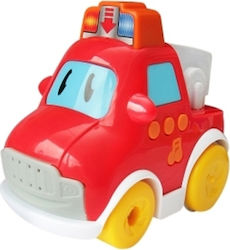 Spielmaus Baby Car Red Press & Go Car