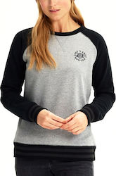Burton Keeler Crew Sweatshirt 204161020 Gray Heather